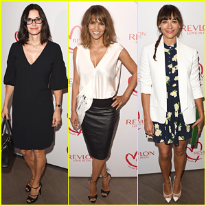 Courteney Cox & Rashida Jones Help Halle Berry Celebrate Women Cancer Research!