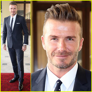 David Beckham Shows Off His 'Perfect' Father's Day Present!