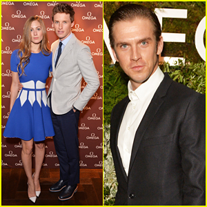 Eddie Redmayne Celebrates Being New Face of Omega Watches with Wife Hannah Bagshawe & Dan Stevens!