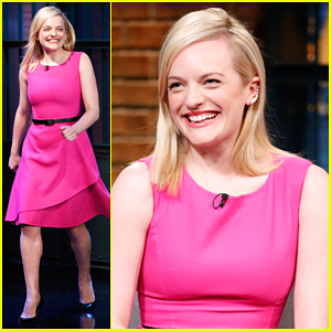 Elisabeth Moss Talks Shooting The 'Mad Men' Finale On 'Late Night' - Watch Here!