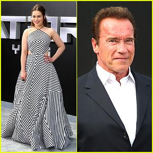 Emilia Clarke & Arnold Schwarzenegger Talk 'Terminator' Nude Scenes