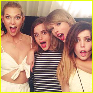 Emma Watson Joins Taylor Swift at '1989' Show in London!