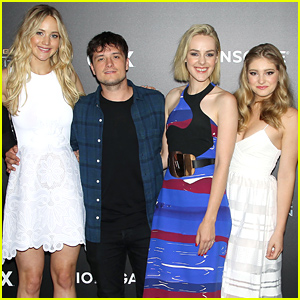 Jennifer Lawrence Reunites with Her 'Hunger Games' Co-Stars at Exhibit Opening!