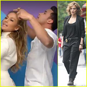 Jennifer Lopez Looks White Hot in Prince Royce's 'Back It Up' Music Video Sneak Peek - Watch Now!