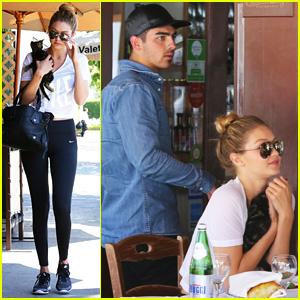 Joe Jonas & Gigi Hadid Hang With His Ex-Girlfriend Taylor Swift