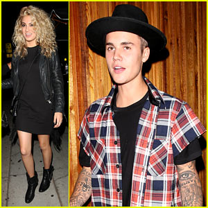 Justin Bieber Joins Star-Studded Crowd for Tori Kelly's Album Release Party!