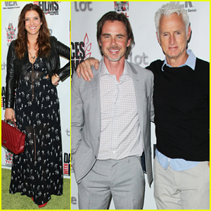 Kate Walsh & John Slattery Step Out to Support Sam Trammell at 'The Aftermath' Premiere!