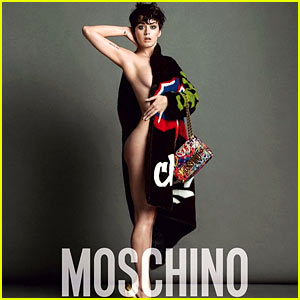 Katy Perry Bares a Lot of Skin for Moschino's New Ads!