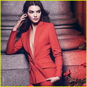 Kendall Jenner is Red Hot in 'Estee Lauder' Fragrance Campaign