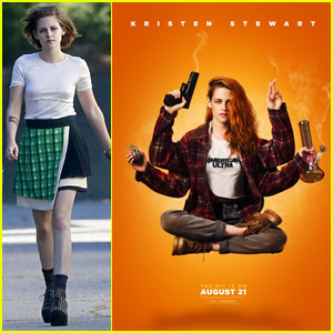 Kristen Stewart Gets High on New 'American Ultra' Poster