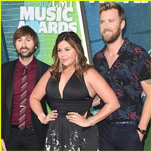 Lady Antebellum Kicks Off CMT Music Awards 2015 Red Carpet