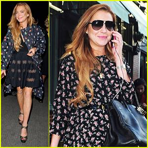 Lindsay Lohan Celebrates Pal Hofit Golan's Birthday in London