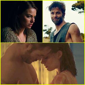 Margot Robbie & Chris Pine Get Steamy in 'Z for Zachariah' Trailer - Watch Now!