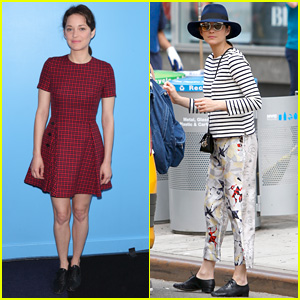 Marion Cotillard to Star With Brad Pitt in Upcoming Spy Thriller