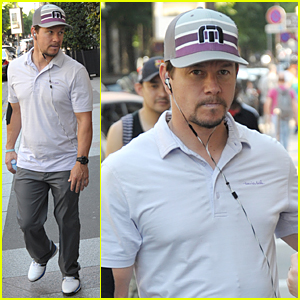 Mark Wahlberg Celebrates 44th Birthday in Paris!
