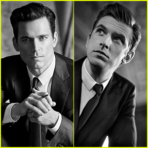 Matt Bomer & Dan Stevens Star in Giorgio Armani's Made to Measure Campaign!