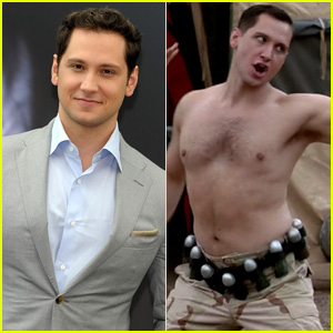 Watch Matt McGorry's Bennett Dance Shirtless to 'Hollaback Girl' on 'Orange is the New Black' (Video)