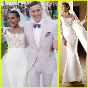 Victoria's Secret Model Arlenis Sosa Weds Basketball Player Donnie McGrath (Exclusive Photos)
