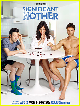 Nathaniel Buzolic Strips Down to His Underwear for The CW's 'Significant Mother' Promo & Poster!