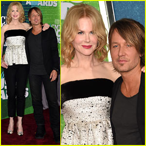 Keith Urban Gets Wife Nicole Kidman's Support at CMT Music Awards 2015!
