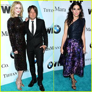 Nicole Kidman & Sandra Bullock Bring Oscar Power to Women in Film Event!
