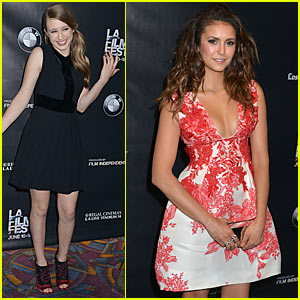 Nina Dobrev & Taissa Farmiga Heat Up 'The Final Girls' Premiere at LA Film Festival