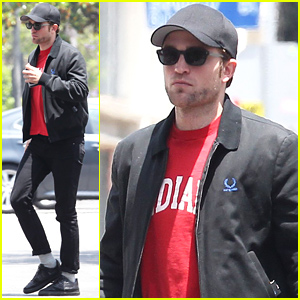 Robert Pattinson Shows Off Some Sexy Scruff While Out to Lunch