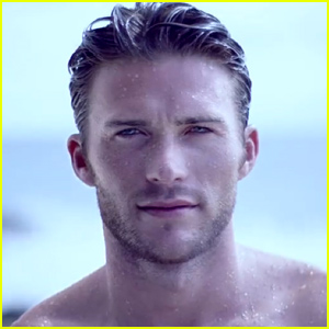 Scott Eastwood Shows Off His Insanely Sexy Shirtless Body for Davidoff Cool Water's Campaign Video - Watch Now