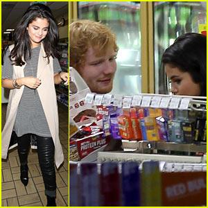 Selena Gomez & Ed Sheeran Hang Out After Tori Kelly's Party!