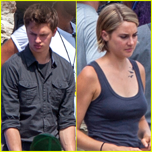 Shailene Woodley & Ansel Elgort Get Working On 'Allegiant' In Atlanta