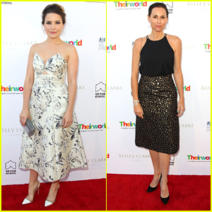 Sophia Bush & Minnie Driver Celebrate Theirworld & Astley Clarke With Summer Reception