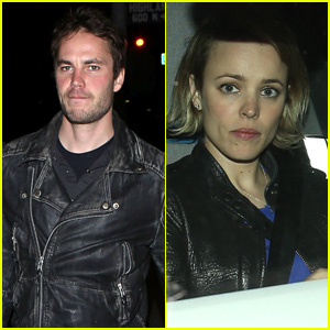 Taylor Kitsch Dines With 'True Detective' Co-Star Rachel McAdams in Hollywood
