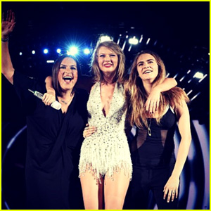 Taylor Swift Brings Out Cara Delevingne & Mariska Hargitay at '1989' Concert in Philly! (Video)