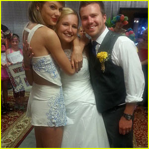 Taylor Swift Meets Fans Who Got Married at Her Concert!