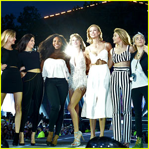 Taylor Swift's 'Style' Squad in London Is Her Best One Yet!