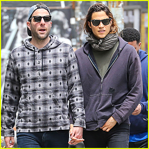 Zachary Quinto & Miles McMillan Prep For Their Anniversary in NYC