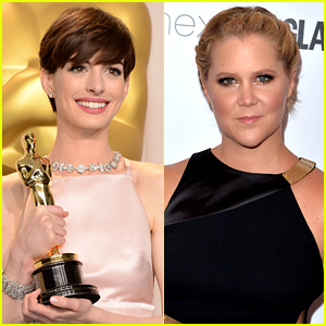 Anne Hathaway Responds to Amy Schumer's 'Trainwreck' Joke!