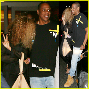 Beyonce & Jay Z Have Date Night at U2 Concert!