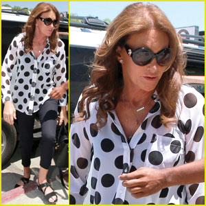 Caitlyn Jenner Steps Out After Meeting With Kris Jenner