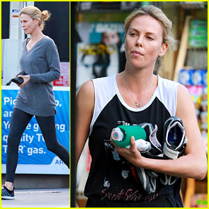 Charlize Theron Steps Out for First Time Since Sean Penn Split