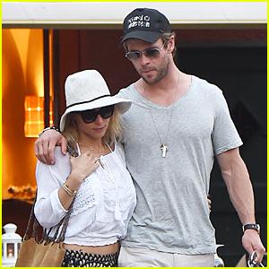 Chris Hemsworth & Elsa Pataky Enjoy Romantic Date in Portofino