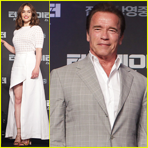 Emilia Clarke Says 'Terminator: Genisys' is 'Just Kicking Some General Butts Really'