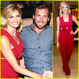 Erin Andrews & Boyfriend Jarret Stoll Couple Up at Summer Soiree!