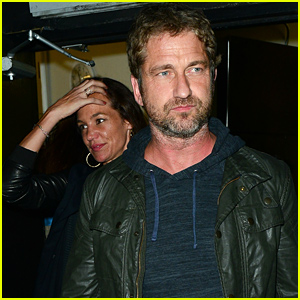 Gerard Butler & Morgan Brown Have a Date Night at The Nice Guy