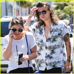 Harry Styles Helps Female Pal Pick Out New Handbag