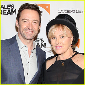 Hugh Jackman's Wife Deborra-Lee Furness Jokingly Bans Him From Working With Angelina Jolie