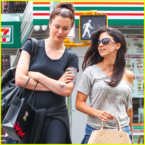Ireland Baldwin Towers Over Stepmom Hilaria in New York City