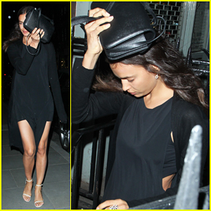 Irina Shayk Has Solo Night Out in London!