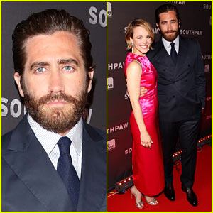 Jake Gyllenhaal & Rachel McAdams Pair Up at 'Southpaw' Canadian Premiere!