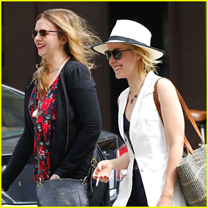 Jena Malone Lunches Out With Amber Tamblyn In NYC